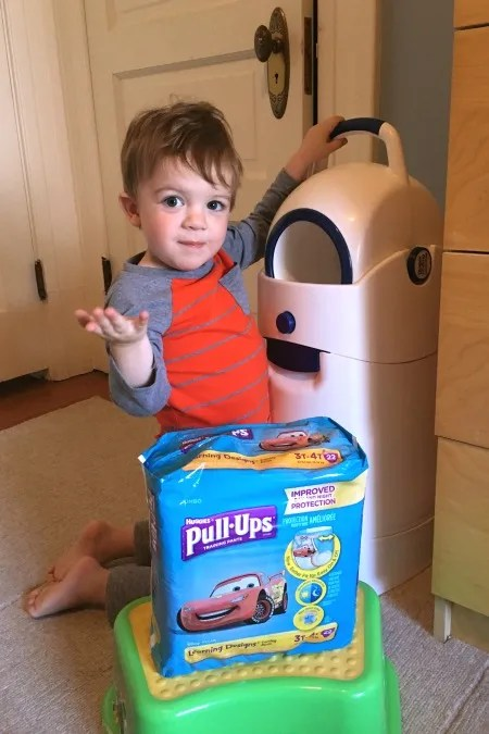Potty Training During Travel - Toddler Pull-Ups