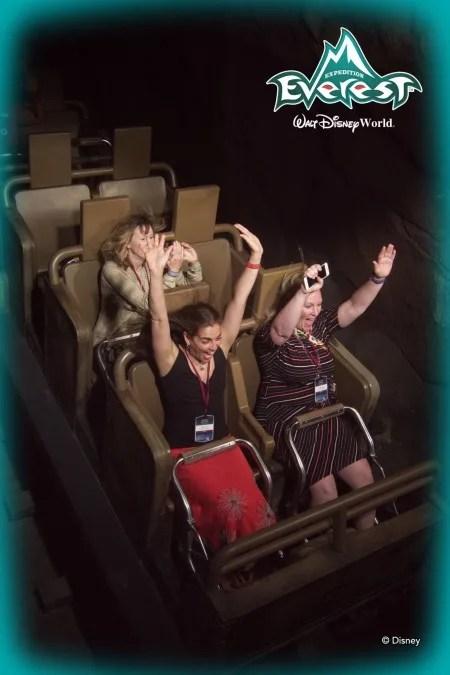 Disney Animal Kingdom - Everest in the dark