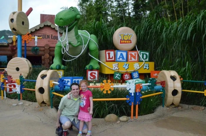 Disney Attractions Around the World - Toy Story Land Hong Kong Disneyland