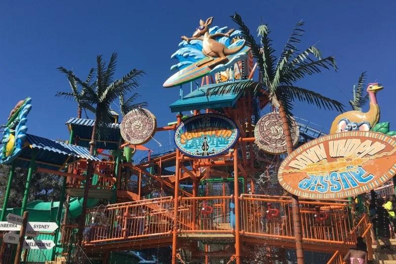 Californias Great America with Kids - Jackaroo Landing