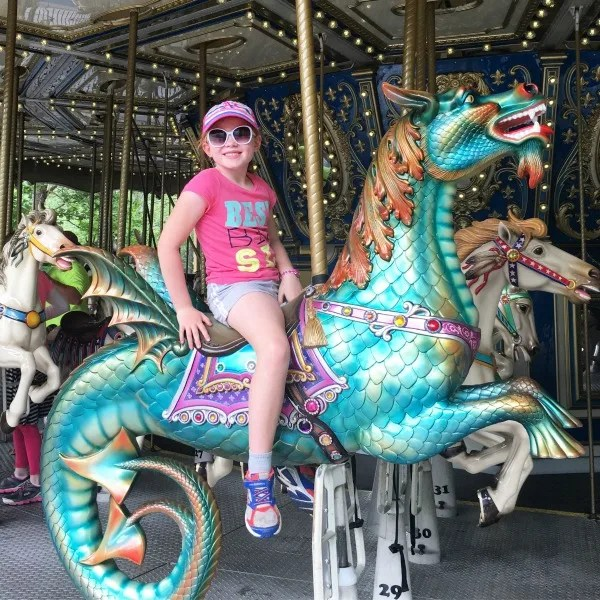 Dollywood with Kids - Carousel Dragon