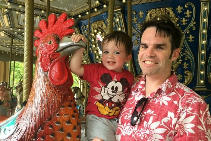 Dollywood with Kids - Carousel