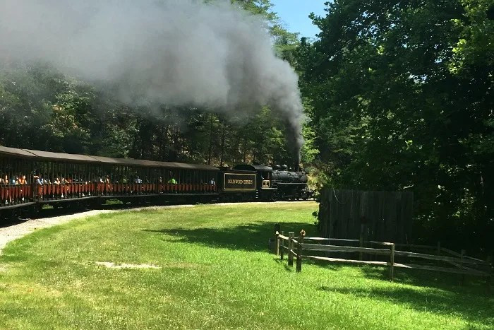Dollywood with Kids - Dollywood Express Train