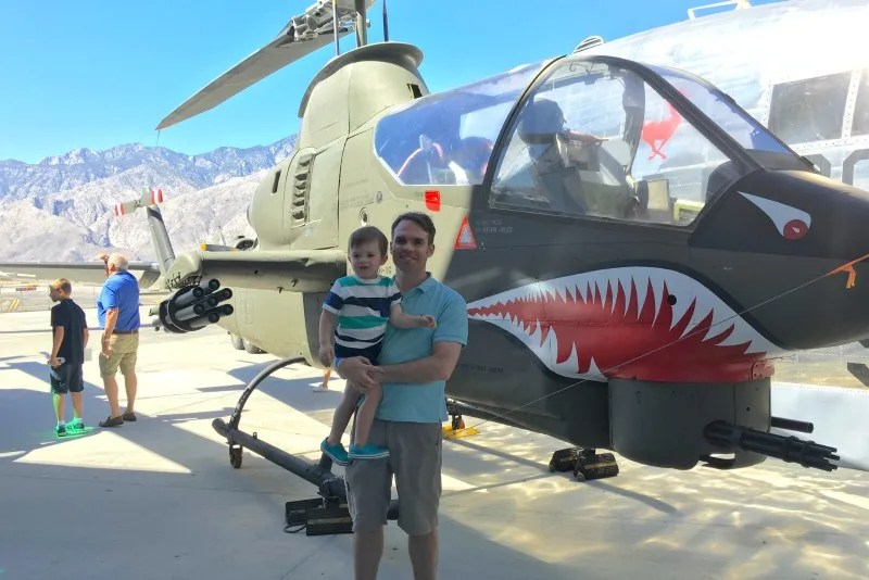 Palm Springs with Kids - Air Museum
