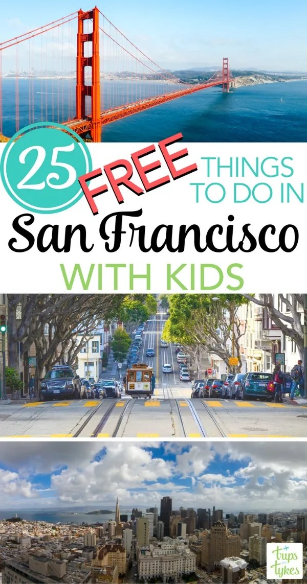 Free Things to Do in San Francisco with Kids: Visiting the City by the Bay on a budget? Plan to explore these 25 fun and free activities for families.