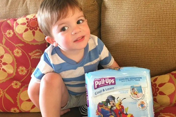 Potty Training Packing List - Pull Ups