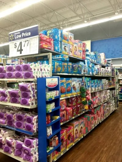 Potty Training Packing List - Walmart In Store