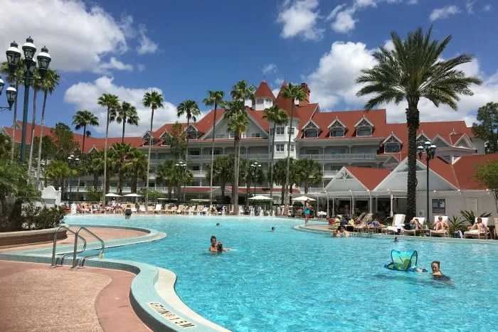 Disney's Grand Floridian Review - Pool
