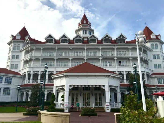 Disney's Grand Floridian Review - Building Side View