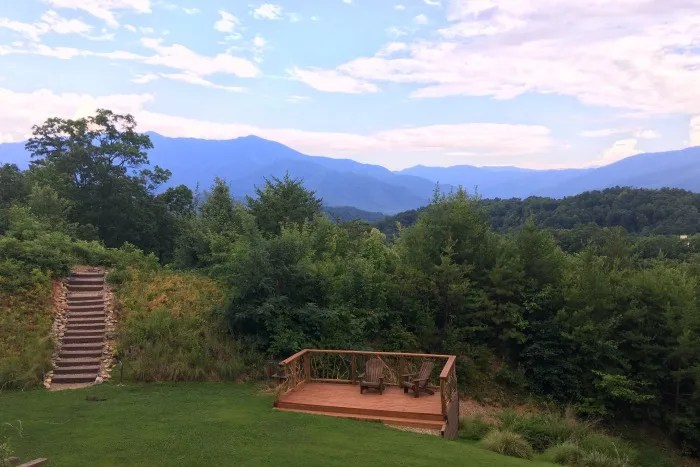 Tennessee Smoky Mountains with Kids - Mountain View