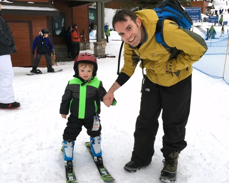 7 Tips for Skiing with Toddlers and Preschoolers