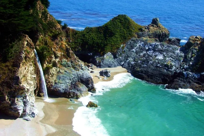 Spring Break Destinations in California - Big Sur