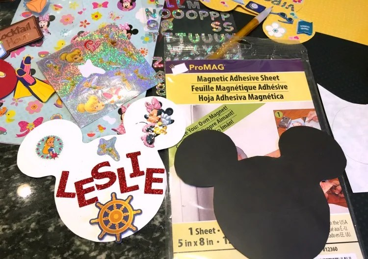 Disney Cruise Door Magnets - Supplies