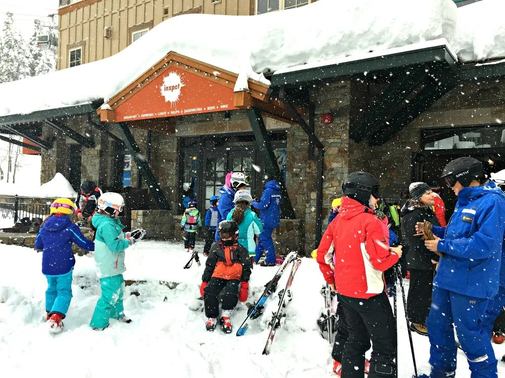 Skiing Northstar with Kids - Ultimate 4 Dropoff