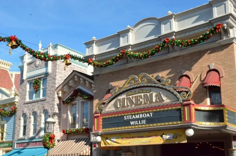 Disneyland with Preschoolers Main Street Cinema