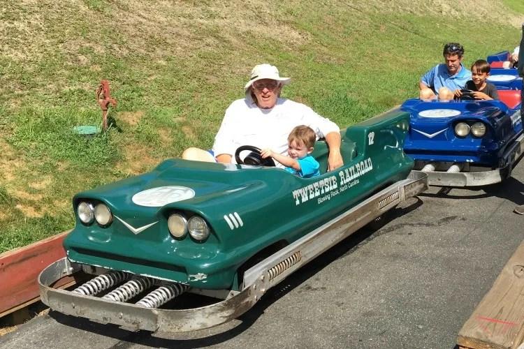 North Carolina High Country - Tweetsie Railroad Cars