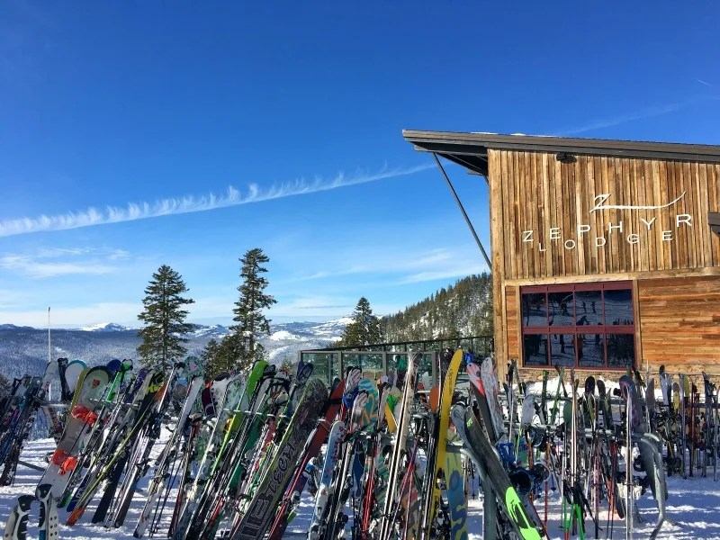 Northstar California Dining Guide - Zephyr Lodge Outside