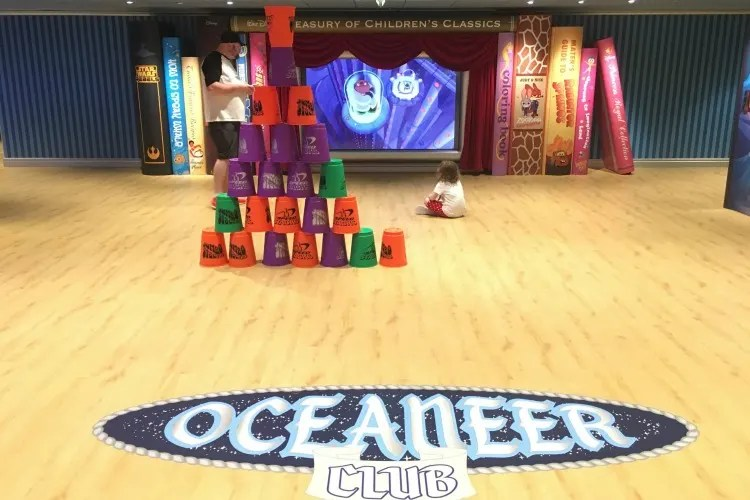 Disney Cruise Line with Toddlers and Preschoolers - Oceaneer Club