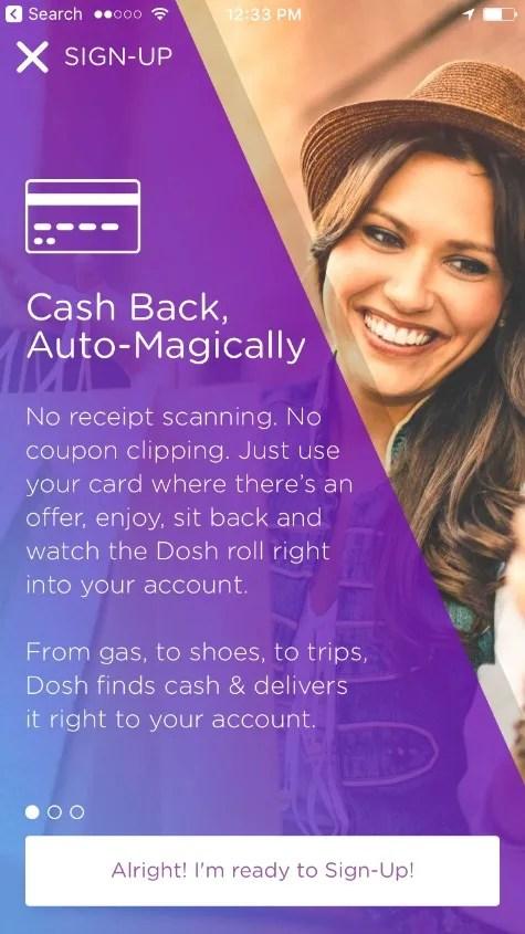 Dosh Review - Cash Back Details
