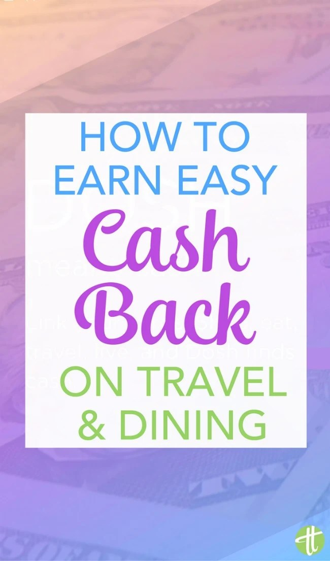 Earn cash back for travel and dining effortlessly with the easy new app Dosh. No travel hacking or extreme couponing required.