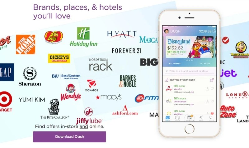 Dosh Review - Places to Save