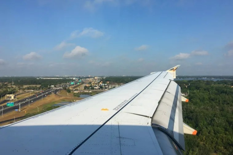 Frontier Airlines - View from the wing