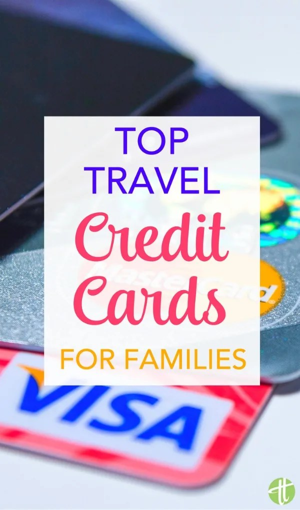 Want to earn travel rewards for your family vacations? These top miles and points rewards credit cards are easy choices for busy parents who want to travel cheaply.