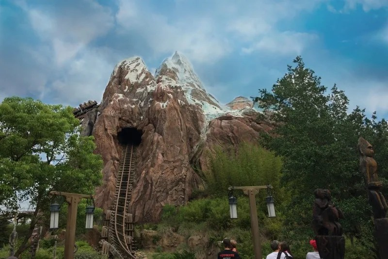 Disney Attractions Around the World - Expedition Everest