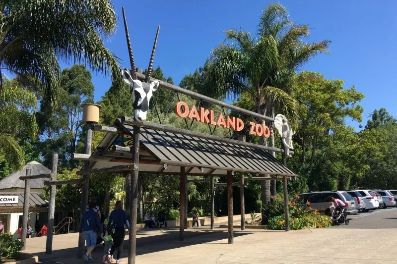 Things to Do in Oakland with Kids - Oakland Zoo Entrance