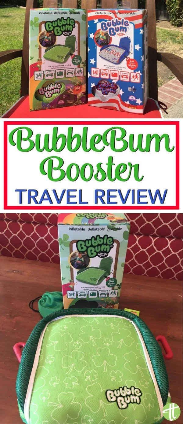 BubbleBum Booster Review: Looking for the best travel-friendly alternative to car seats for older kids? Why the space-saving inflatable BubbleBum booster is a must-have product for family travelers.