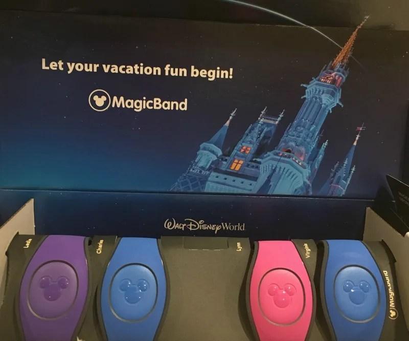 Disney World Magic Bands