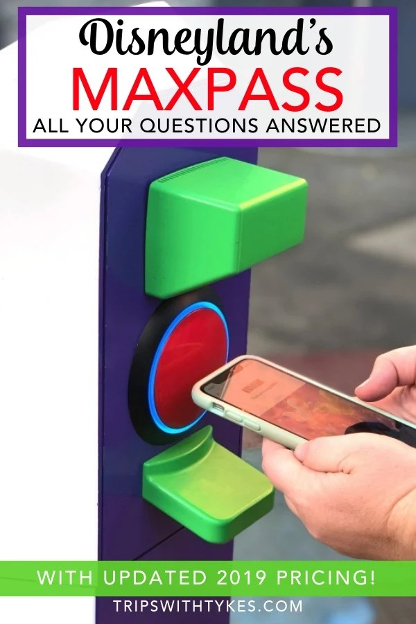 Curious about MaxPass at Disneyland - digital FASTPASSES you can book on your smartphone? Over 21 frequently asked questions answered, plus all the latest 2019 price increase news. Tips, hacks, and more! #disneyland #maxpass #fastpass #disney