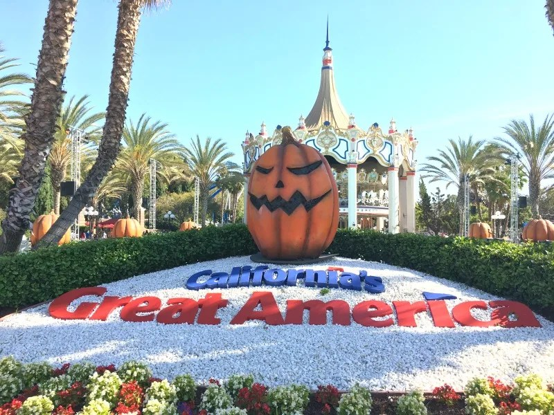 Great Pumpkin Fest Californias Great America - Entrance