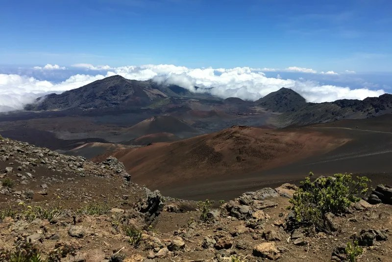 Haleakala National Park Guide and Tips - Sliding Sands Trail from Top