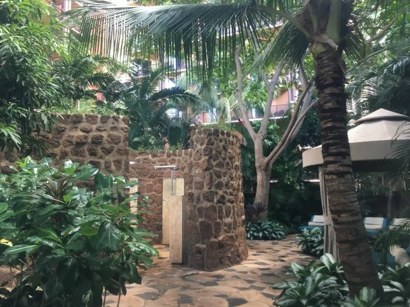 Disney Aulani Splurges - Laniwai Spa Hydrotherapy garden