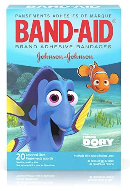 Disney character bandages
