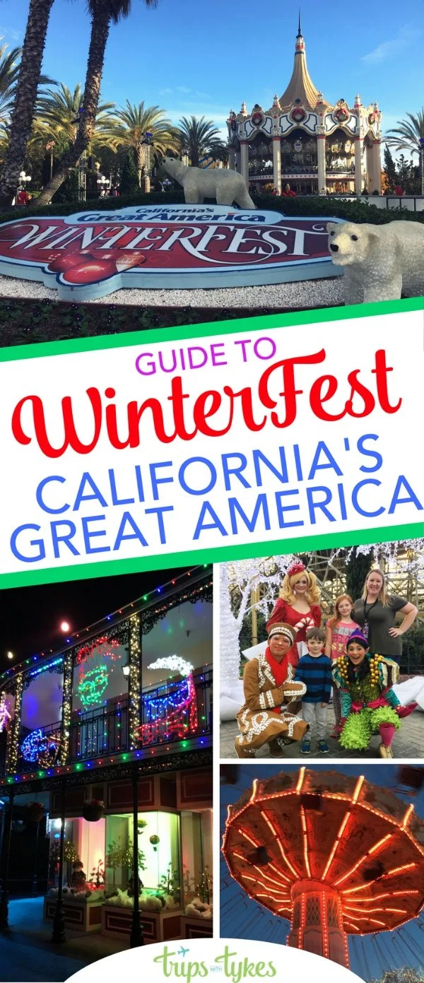 top tips for winterfest at californias great america what to do to celebrate the holiday