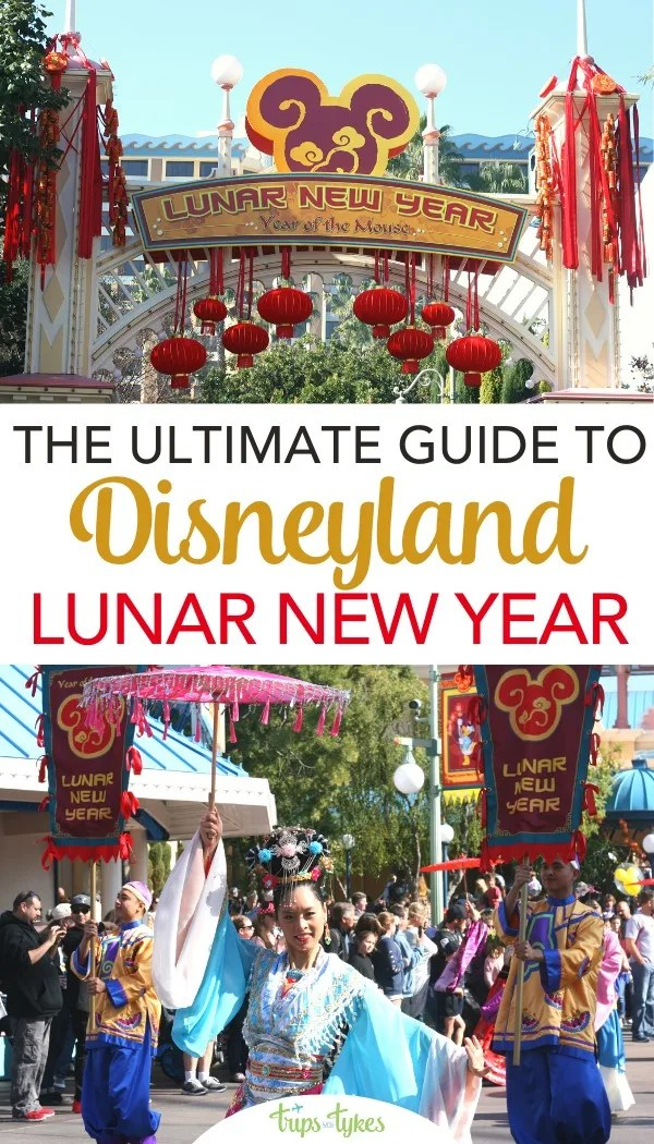 Disneyland celebrates Lunar New Year every year in January and February in Disney California Adventure. Get all the best tips and secrets for visits to this special festival event, with a sneak peek at the shows and all the specialty foods in the marketplaces. #disneyland #lunarnewyear
