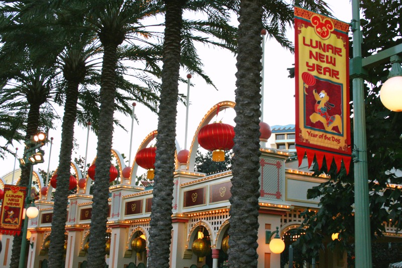 Disneyland Lunar New Year - Festival Marketplaces
