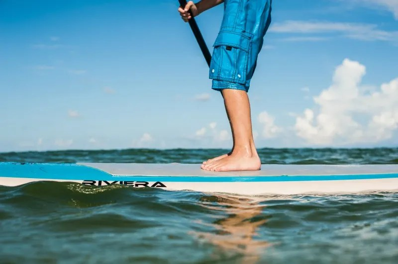 Gulf County Florida for Families - Paddleboarding with Kids