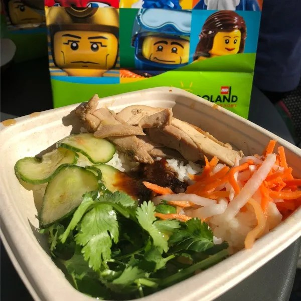 Legoland California on a Budget - Healthy Food