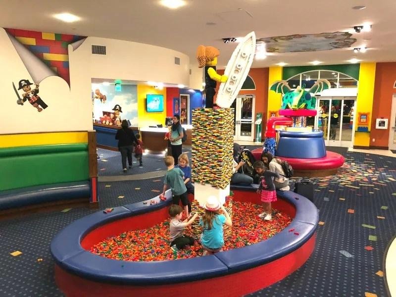 Legoland California on a Budget - Legoland Hotel Free Play