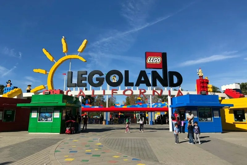 Legoland California on a Budget - Park Entrance