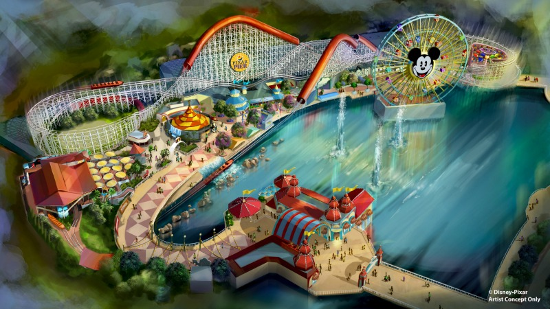 New at Disneyland Spring Summer 2018 - Pixar Pier