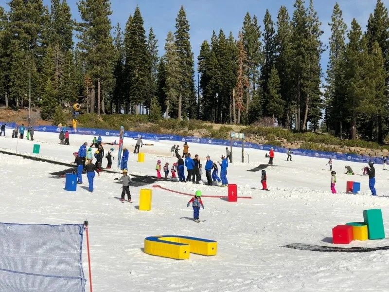 Why Ski School is Worth it for Kids - Northstar California Ski School Magic Carpet