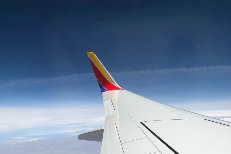 Southwest Inaugural Flight - Winglet