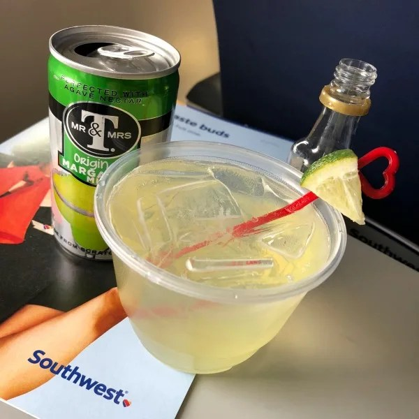Southwest Inaugural Flight to Cabo - Margarita In-Flight