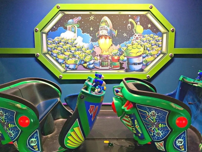 Disneyland Pixar Fest with Toddlers and Preschoolers - Buzz Lightyear Astroblasters