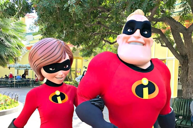 Disneyland Pixar Fest with Toddlers and Preschoolers - Incredibles