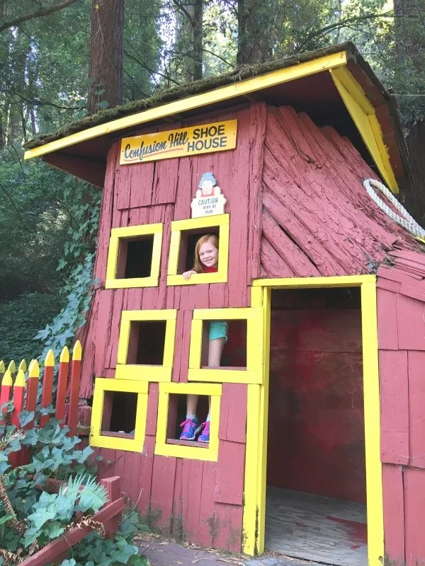 Mendocino County California with Kids - Confusion Hill